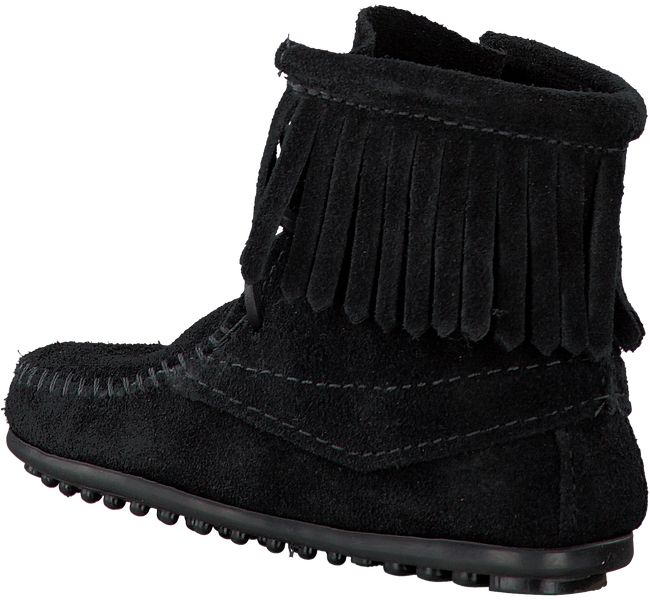 MINNETONKA Bottillons 2429 en noir - large