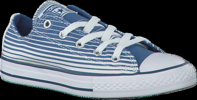 CONVERSE Baskets CTAS STRIPE KIDS en bleu - large
