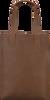 MYOMY Sac à main LONG HANDLE ZIPPER en marron  - small