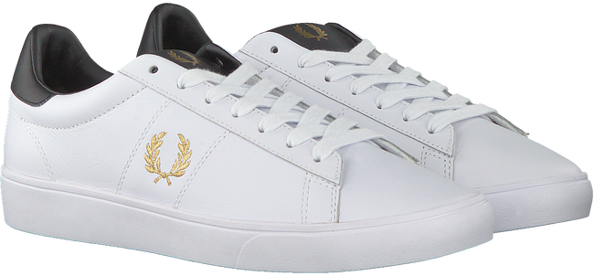 Witte FRED PERRY Lage sneakers B8255  - large