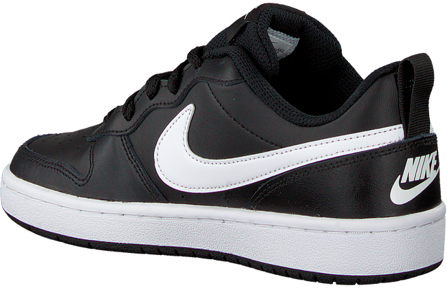 NIKE Baskets basses COURT BOROUGH LOW 2 (GS) en noir  - large