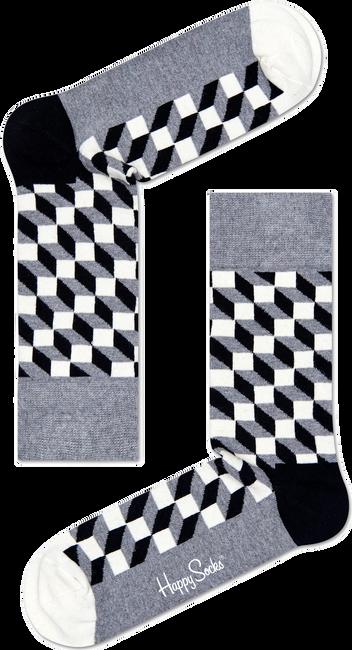 HAPPY SOCKS Chaussettes FILLED OPTIC en gris - large