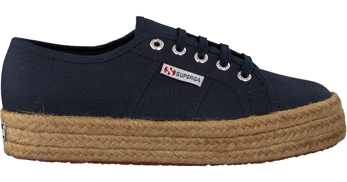 2730 be Superga Omoda Baskets Cotropew En Bleu Yf76gybv